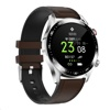Tec Sante Bluetooth Call Series Smart Watch SE12 (Silver Case w/ Steel Strap + 2 extra straps)
