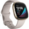 Fitbit FB512 Sense (White/Soft Gold)