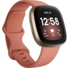 Fitbit FB511 Versa 3 GPS Smartwatch (Pink Clay Strap / Soft Gold Aluminum Case)