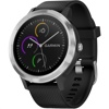 Garmin Vivoactive 3 Smart Watch (Black with Silver stainless hardware, USA Spec)