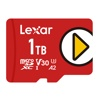 Lexar PLAY microSDXC UHS-I Card (1TB, up to 150MB/s Read Speed)