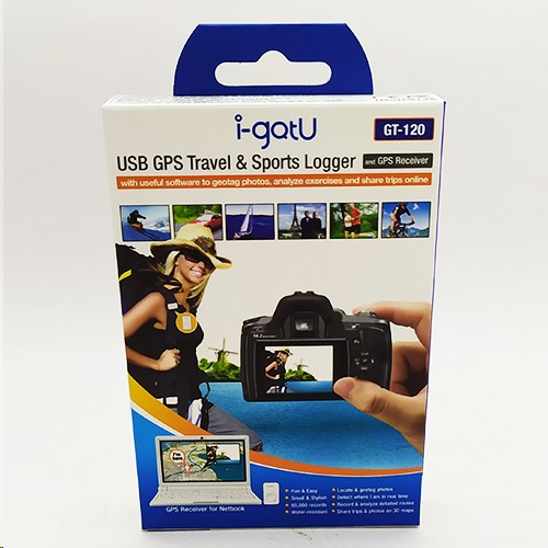 Mobile Action i-gotU GT-120 USB GPS Travel Logger