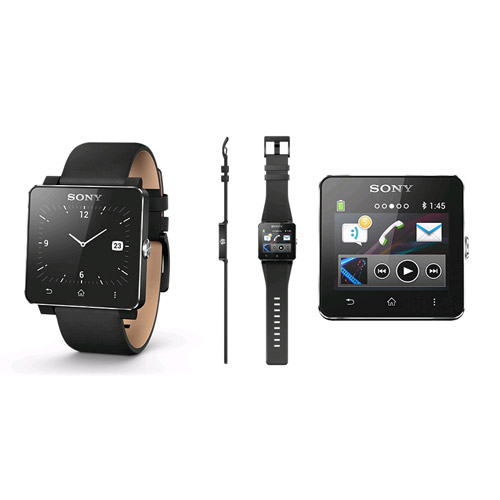 Sony SmartWatch 2 SW2 (with Black Silicon Strap) - EXPANSYS Philippines 57d81562f61