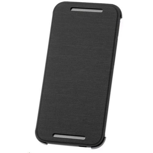 premium selection 1cae6 fe485 HTC One mini 2 Flip Case HC V970 Grey, Retail Blister