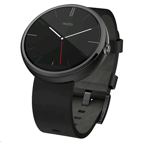 Motorola moto 360 Dark Stainless Steel Case
