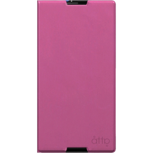 Buy atta xperia c3 leather case pink official ireland sony atta xperia c3 leather case pink reheart Images