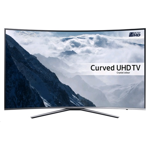 "Samsung 43"" 2016 4K UHD Curved Smart TV KU6500"