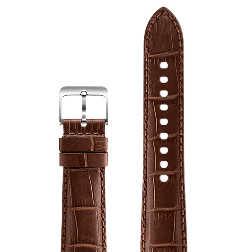 Samsung Gear S3 Aligator Grain Leather Band