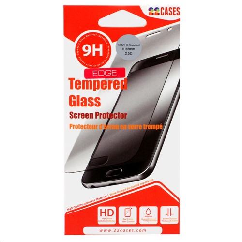 22 Cases Screen Protector for Sony Xperia X Compact