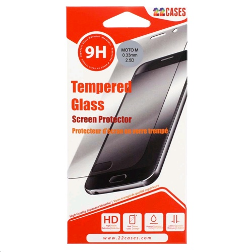 22 Cases Screen Protector for Motorola Moto M
