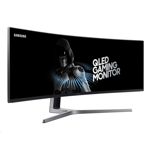 "Samsung 49"" QLED Curved Gaming Monitor CHG90"