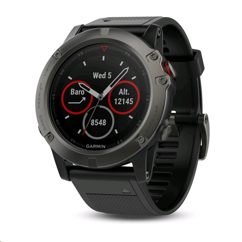 Garmin fenix 5X Multisport GPS Watch for Fitness