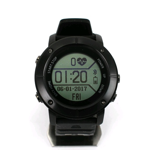 Tec IP68 Heart Rate Monitor GPS スマートウォッチ UW80C