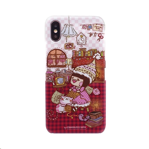 Sigema Chocolate Rain Case for Apple iPhone X