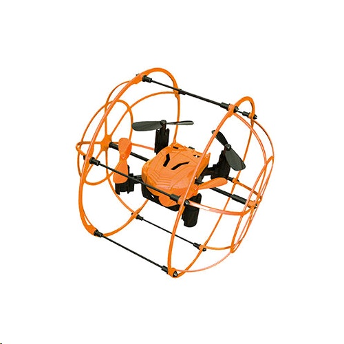 LeConcepts Remote Control Quadcopter Flying Ball Drone SG-F10
