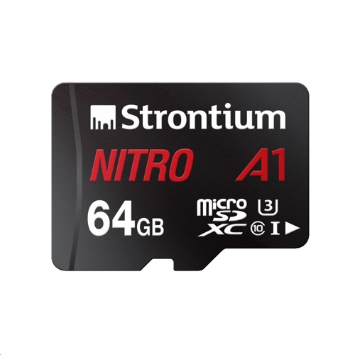 Strontium NITRO A1 MicroSDXC Card with Adapter