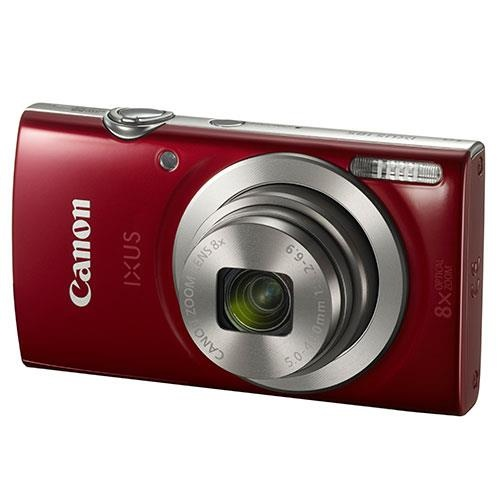 Canon IXUS 185 Compact Camera In Red