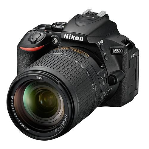 Nikon D5600 Digital SLR Camera + AF-S 18-140mm VR Lens