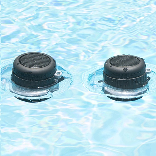AquaJam AJ105 Waterproof Speaker – Twin Pack