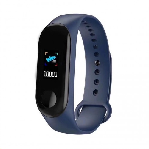 Tec IP67 Color Screen Heart-rate Monitoring Bracelet M3