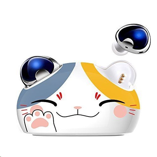 Brookstone Lucky Cat True Wireless Earbuds