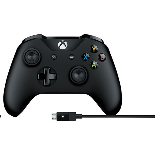 Microsoft Xbox One Wireless Controller with Cable