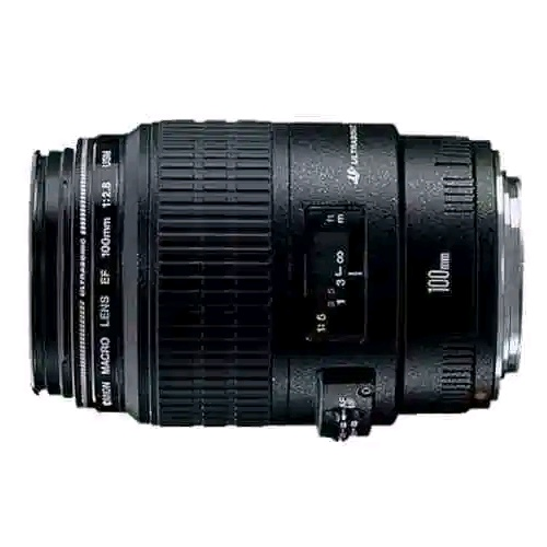 Canon EF 100mm f/2.8 Macro USM Lens for Canon Digital SLR Cameras
