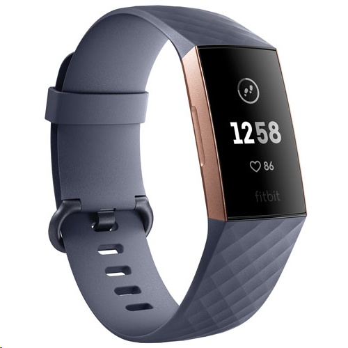 Fitbit Charge 3 Heart Rate + Fitness Wristband