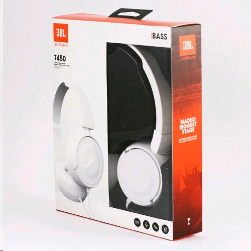 JBL T450 Wired Headphones