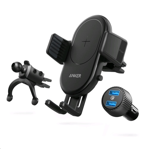 Anker PowerWave 7.5 Fast Wireless Charging Car Mount