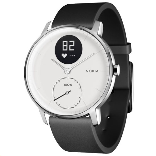 Withings Steel HR 36mm Fitness Tracker with Heart Rate Monitor