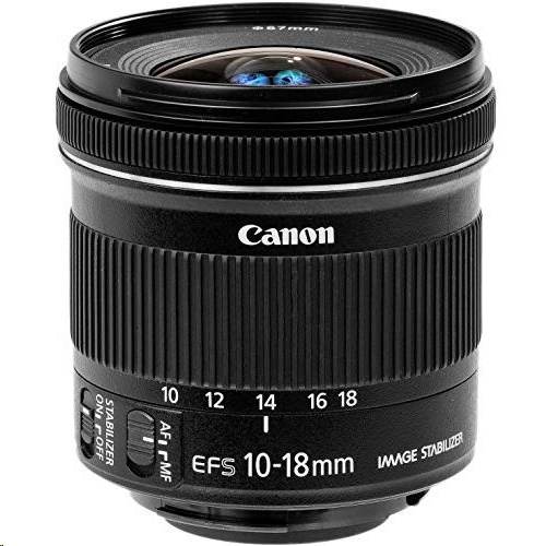 Canon 캐논 EF-S 10-18mm f/4.5-5.6 IS STM Lens