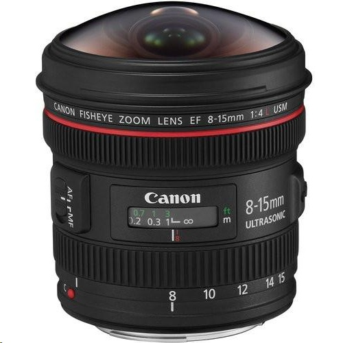 Canon EF 8-15mm f/4L Fisheye USM 鏡頭