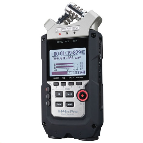 Zoom H4n PRO Handy Recorder Musical Instrument