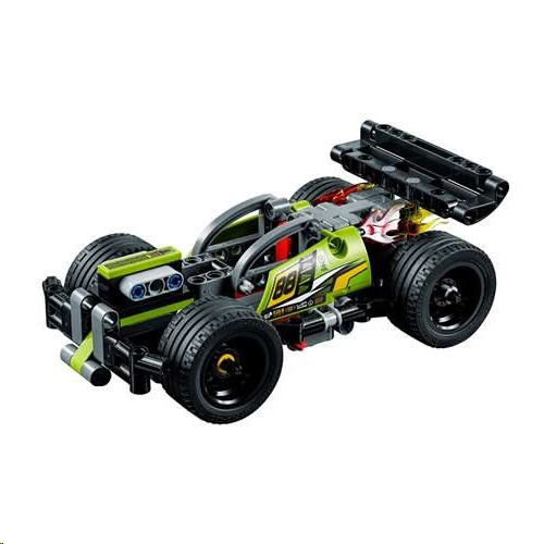Lego 42072 Technic WHACK! Pull Back Motor Race Car Building Kit