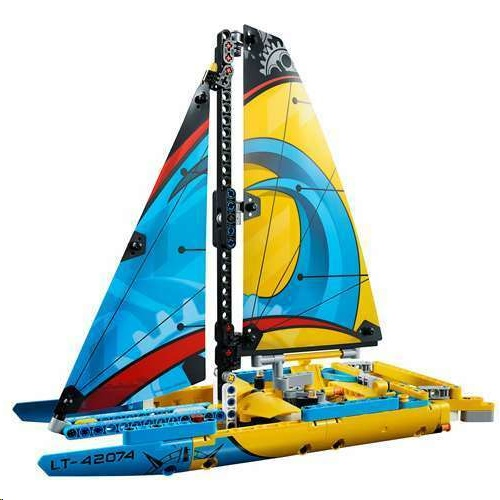 Lego 42074 Technic Racing Yacht Building Kit