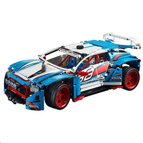 Lego 42077 Technic Technic Rally Car Toy, 2in1 Buggy Model,  Racing Construction Set