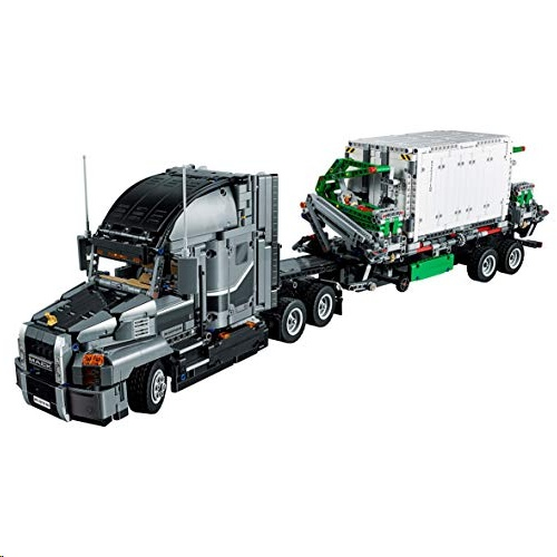 Lego 42078 Technic Mack Anthem Truck Replica, 2 in 1 Model, Advanced Construction Set