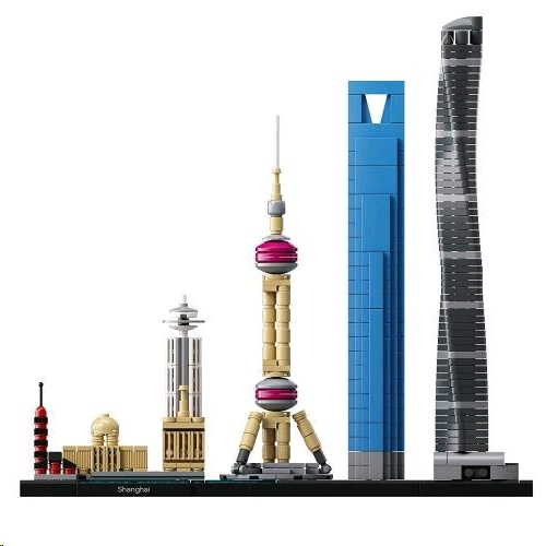 Lego 21039 Architecture Shanghai Building Kit 樂高積木