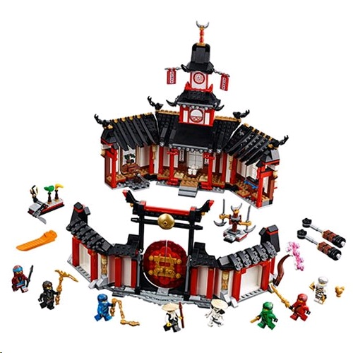 Lego 70670 Ninjago Monastery of Spinjitzu Building Kit