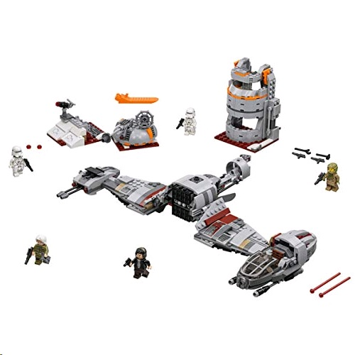 Lego 75202 Star Wars Episode VIII Defense of Crait Playset with Resistance Ski Speeder