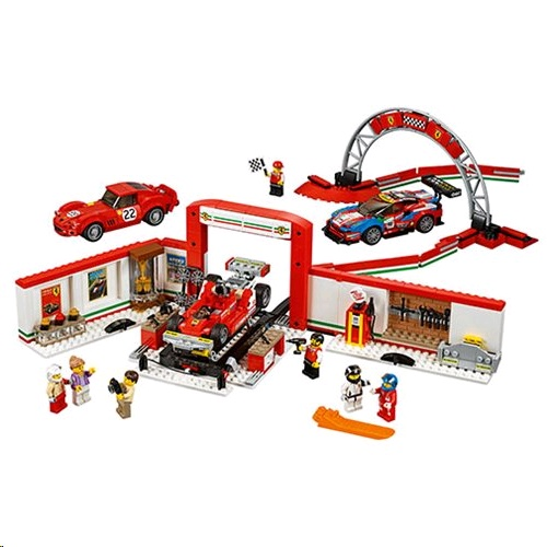 Lego 75889 Speed Champions Ferrari Ultimate Garage Building Kit
