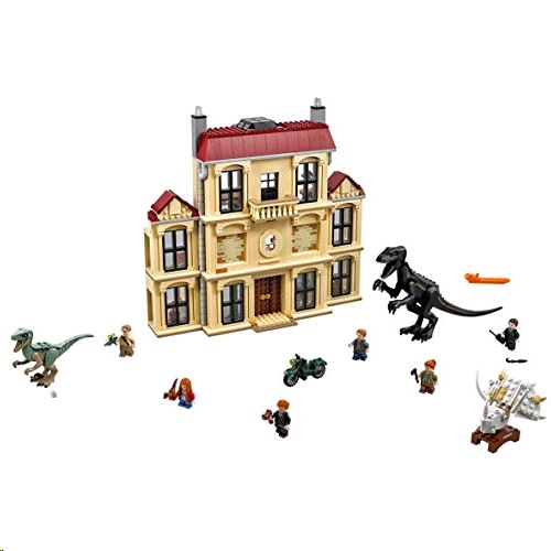 Lego 75930 Jurassic World Indoraptor Rampage at Lockwood Estate Set