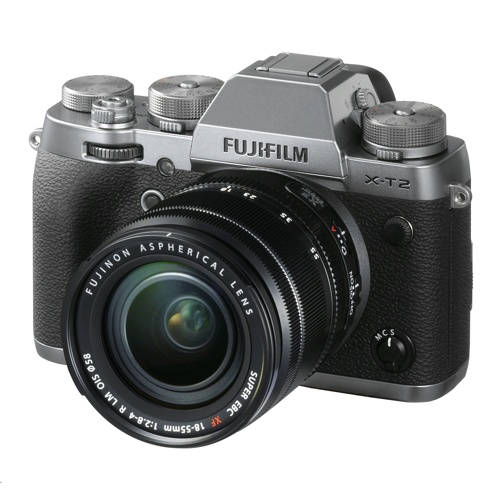 Fujifilm X-T2 Mirrorless DSLR Camera with 18-55mm Lens