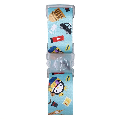 Sigema Squly & Friends Luggage Belt - Travel