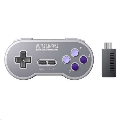 8BitDo SN30 2.4G Wireless GamePad for SNES/SFC Classic Edition