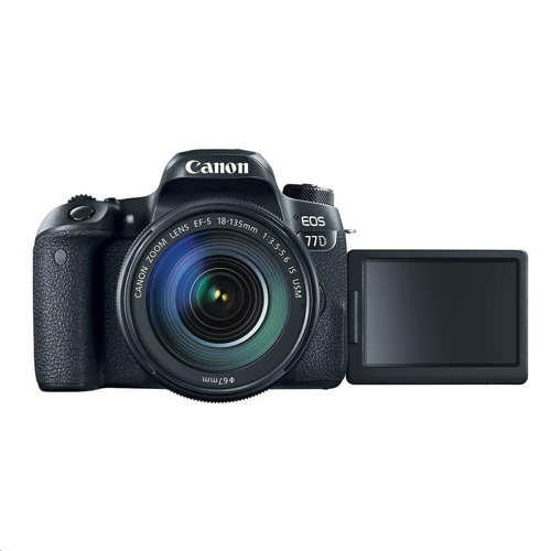 Canon EOS 77D + 18-135 IS USM Lens KIT