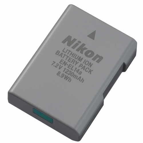 Nikon EN-EL14A Rechargeable Li-on Battery for Nikon DF / D5300