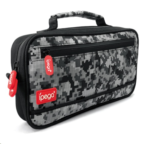 Ipega PG-9185 Camouflage Travel and Carry Case for N-Switch/ Switch Lite