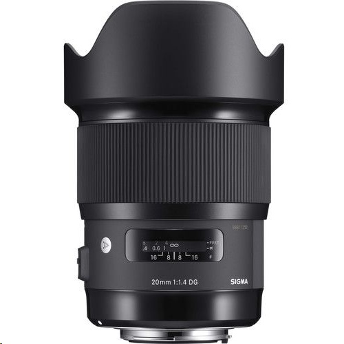 Sigma 20mm  f/1.4 HSM CAF Art Lens For CANON